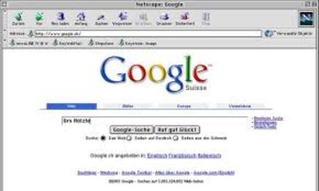 Primera cuenta de google