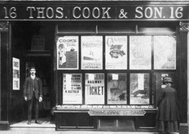 Primera Agencia de Viajes de Thomas Cook