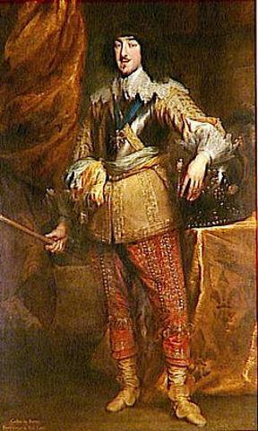 Naissance de Gaston, Duc d'Anjou