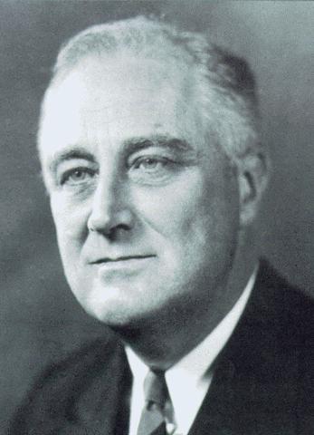 Franklin Roosevelt réélu président