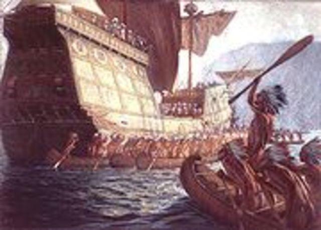 Samuel Champlain fonde la ville du Québec