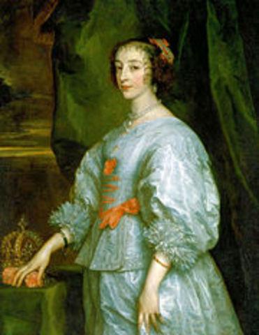 Naissance d'Henriette de France