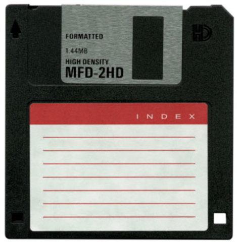 Aparición de los disquetes