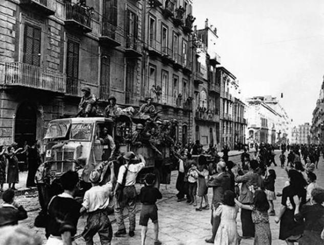 Le quattro giornate di Napoli - La rivolta contro gli occupanti tedeschi. 28 settembre - 1° ottobre 1943