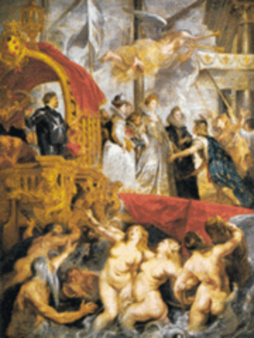 Sacre à Saint Denis de Marie de Médicis, Reine de France