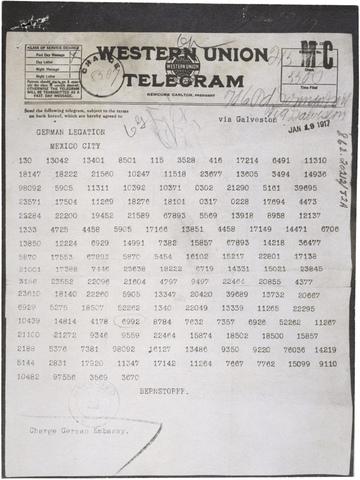 Telegram to mexico