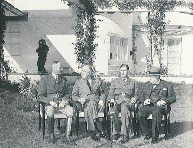 Conférence D'Anfa à Casablanca