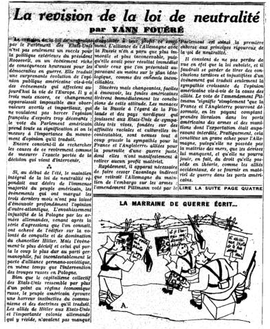 """""""Loi de neutralité"""""""