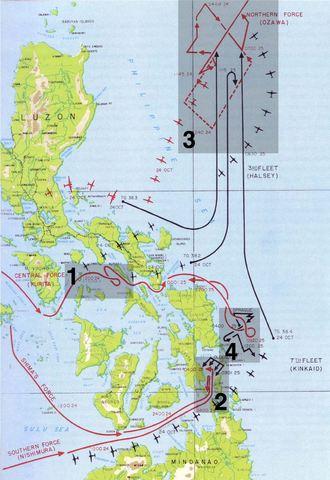 Bataille aéronavale dévisive du golfe de Leyte