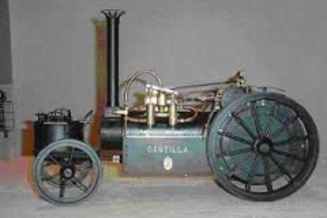 Primer auto con combustion interna o de exploción