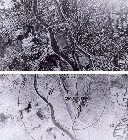 Bombardement atomiques de Hiroshima et Nagasaki