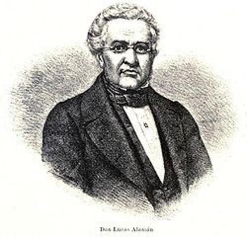 Lucas Alaman's goverment