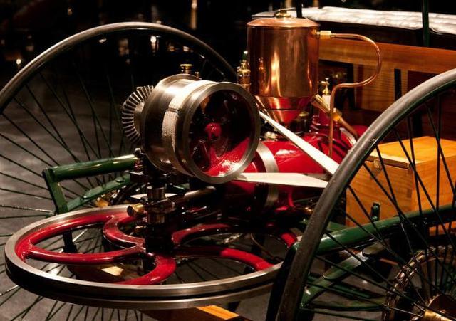 Primer motor de gasolina estacionario
