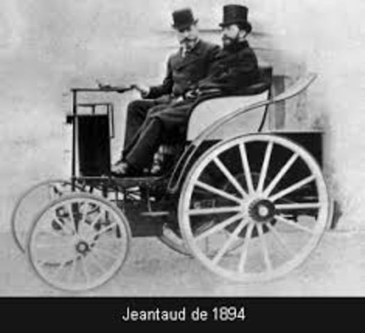 Primer automovil electrico