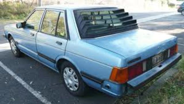 Produccion de Datsun y Sedan Bluebird de NISSAN en Mexico