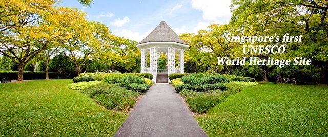 UNESCO Heritage Site - Singapore Botanics Gardens