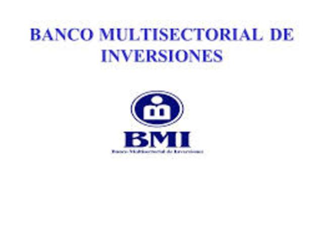 CREACION DEL BANCO MULTISECTORIAL DE INVERCIONES