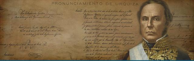 PRONUNCIAMIENTO DE URQUIZA
