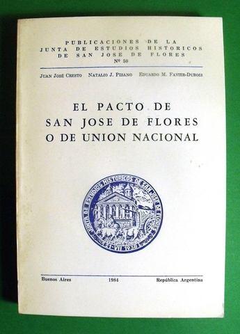 PACTO DE SAN JOSE DE FLORES