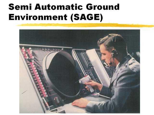 SAGE Semi-Automatic Ground Environment