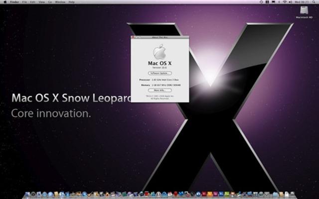 Mac OS X Snow Leopardv10.6