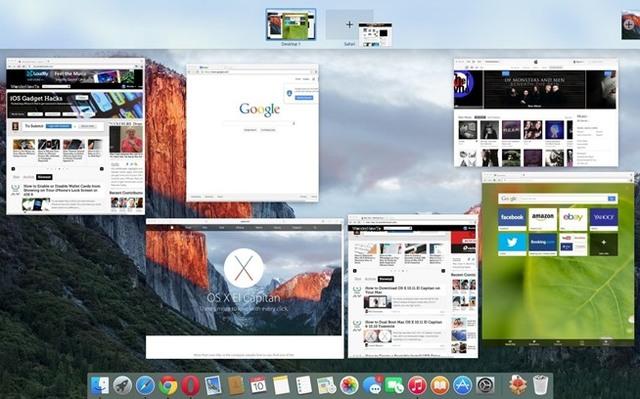 Mac OS Eel Capitan