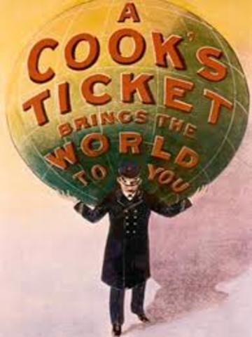 """Est. """"Thomas Cook Voyages"""""""