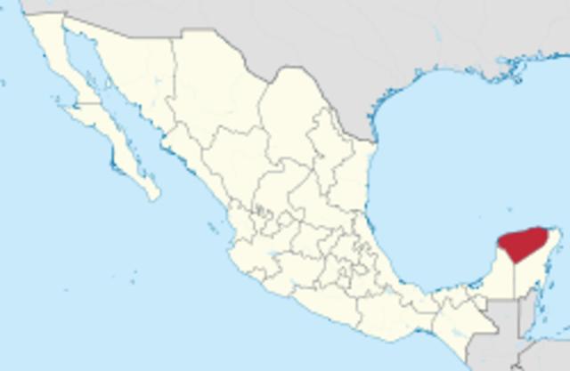 Secession of the Yucatan Peninsula 1837