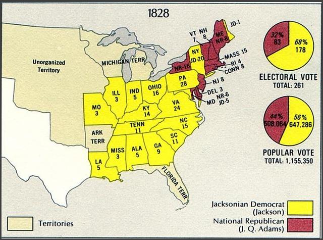 S.C Haults Votes In 1836