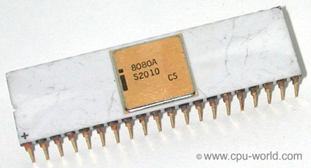 Intel 8080 (Primera CPU)