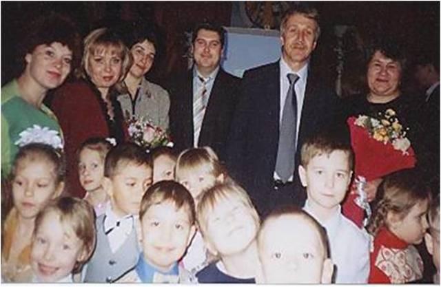 Юбилей Леонида Викторовича МихельсонаПоздравление воспитанников ЦКР