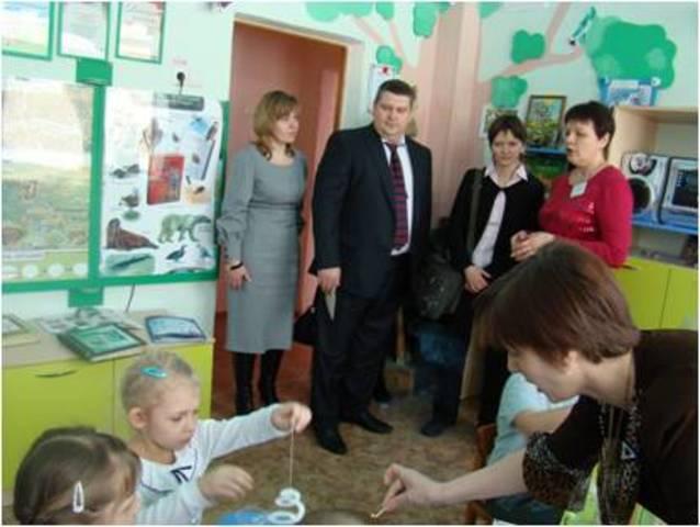 2012г Изучение опыта экологического образования в Новокуйбышевске министерством образования РФ.