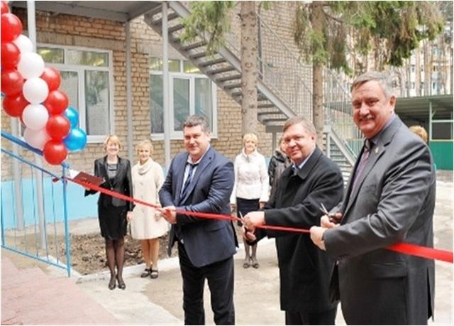 Открытие детского сада после реконструкции -  г.Сызрань, 2012 год