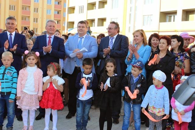 Открытие нового детского сада в Южном городе , 2014 год