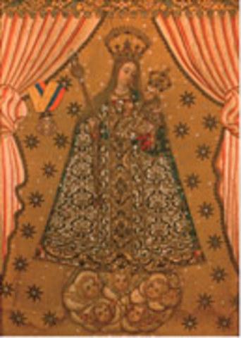 """Nuestra señora del Rosario """"La Bordadita"""""""