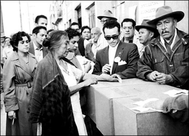 Sufragio Universal y femenino en Colombia