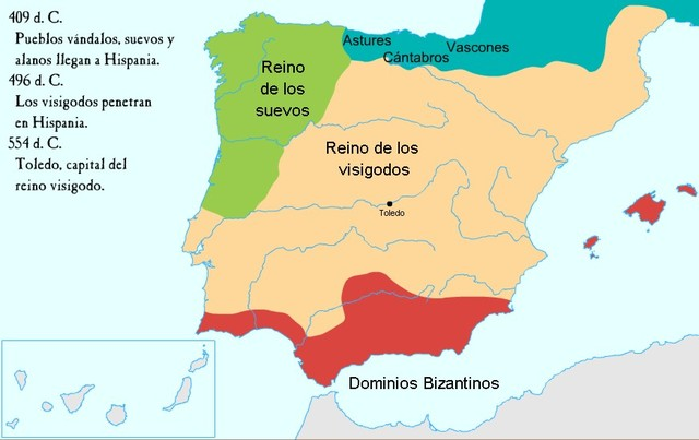 Hispania visigoda