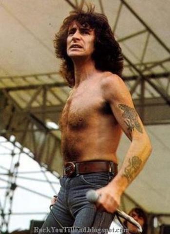 Bon Scott death (band singer)