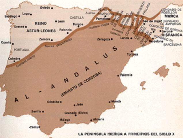 Ocupación musulmana de hispania