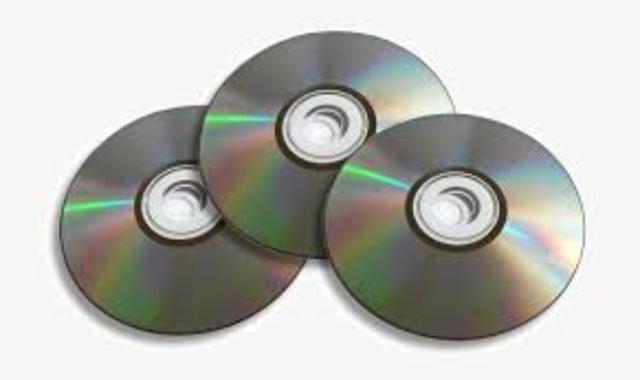 Aparición de CDs