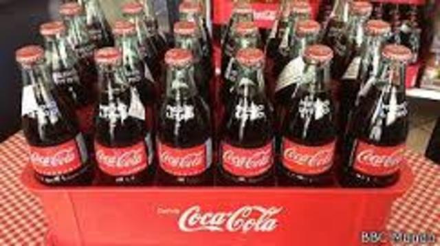 """""""Quiero comprarle al mundo una Coca-Cola"""""""