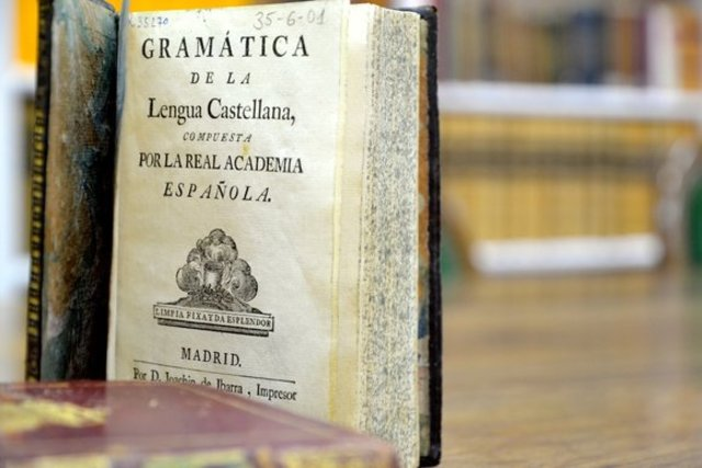 Primera gramática de La Real Academia