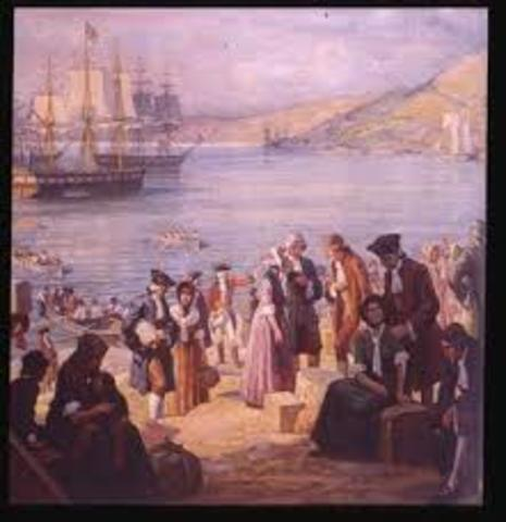 Second Wave of Immigration to Quebec- Loyalists