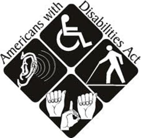 The Americans w/Disabilities Act