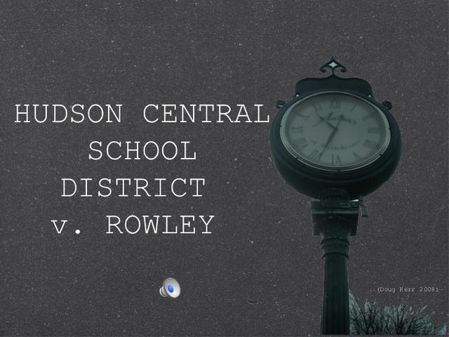 Board of Education of Hendrick Hudson Central School Distict v. Rowley