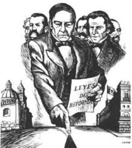 Reforma por Benito Juarèz
