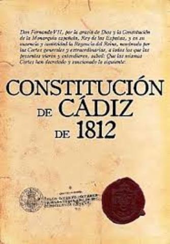 Constituciòn de Cadìz