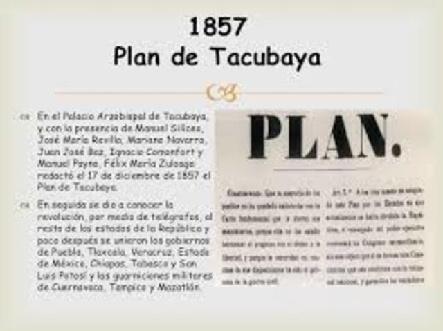 Paln de Tacubaya