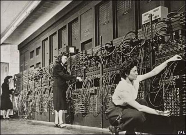 Desmontación de la ENIAC
