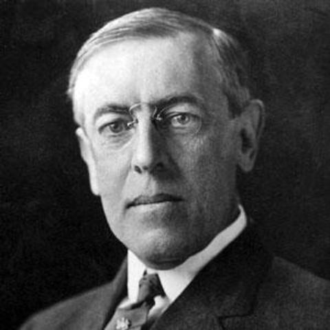 Les 14 points du Président américain Wilson